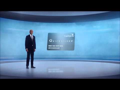 Capital One 'Quicksilver Card' Commercial