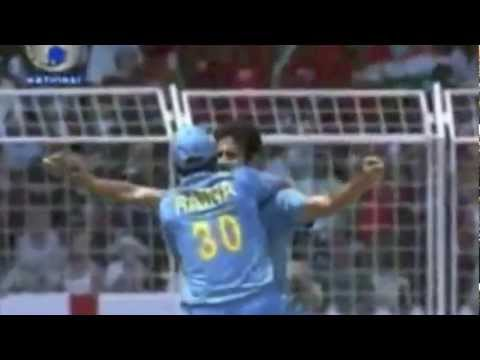 Irfan Pathan - Swing bowling during the initial stages of his career
