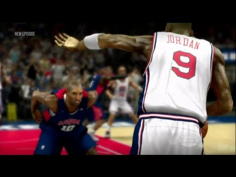 NBA 2K13 - Official Dream Team Trailer | 2012 - Team USA vs. The Dream Team - 1992 | KB10 vs. MJ9