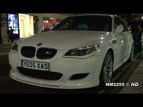BMW M5 with Eisenmann vs. Mercedes C63 AMG - Sounds Battle!