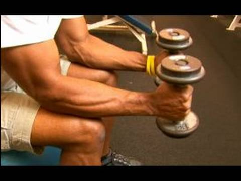 Curl Exercises & Upper Body Fitness : Hammer Curl Exercise for Your Forearms