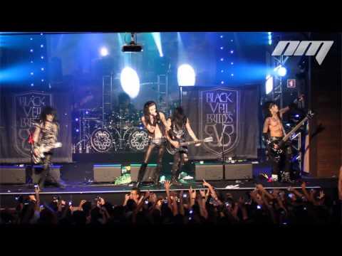 Black Veil Brides - Rebel Yell - Brasil Carioca Club 2012