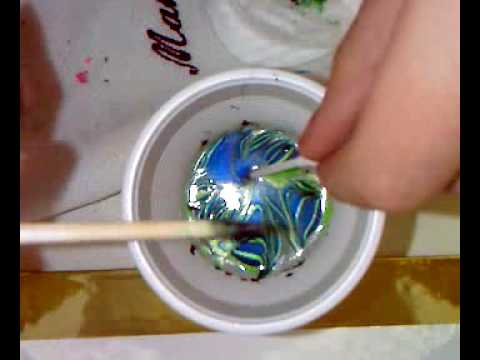 Nail art- Marble nail 2 tutorial