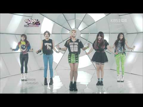 120615 Music Bank f(x) - Electric Shock