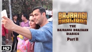 The Bajrangi Bhaijaan Diaries - Part II - First day Shoot