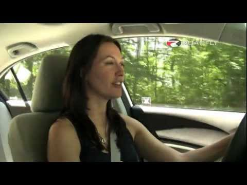 Honda Civic EX 2012 Test Drive & Car Review by RoadflyTV with Elizabeth Kreft