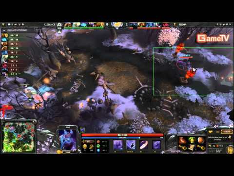 Dota2 | Alliance vs Sigma D2CL 13/2/2014