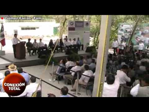 Felipe Calderón inauguró acompañado de Eugenio Hernández el Parque Interpretativo Ecológico