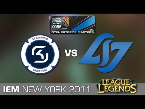 CLG vs. SK Gaming - Semi Final IEM GC New York League of Legends