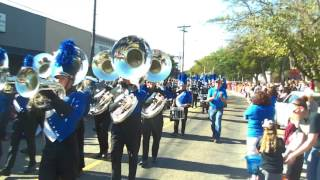 North Forney Falcons Marching in the Unity Parade