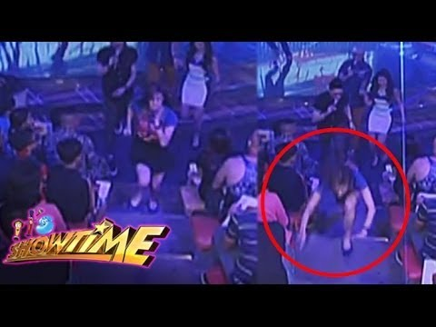 Anne Curtis tripped during It's Showtime