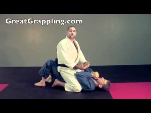 Mount Submission Cross Collar Choke