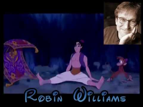 Celebrities behind Disney characters (part 1 of 2) DUBBING