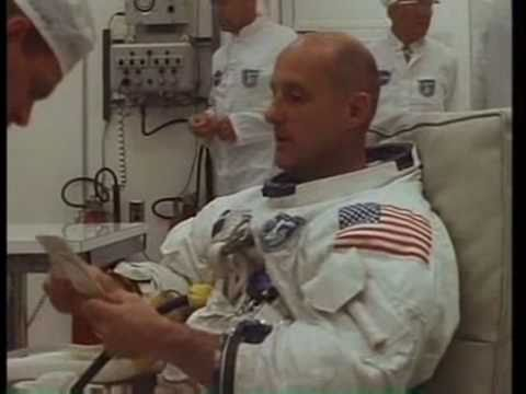 Apollo 10 - Suit-Up, Transfer To Launch Pad & Spacecraft Egress (May 18, 1969)