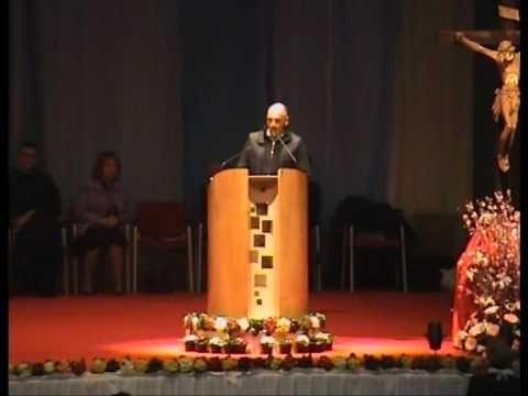 Paolo Brosio: Testimonianza conversione [2/3] (PalaSharp, 2009)