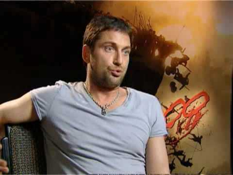 Gerard Butler on 300
