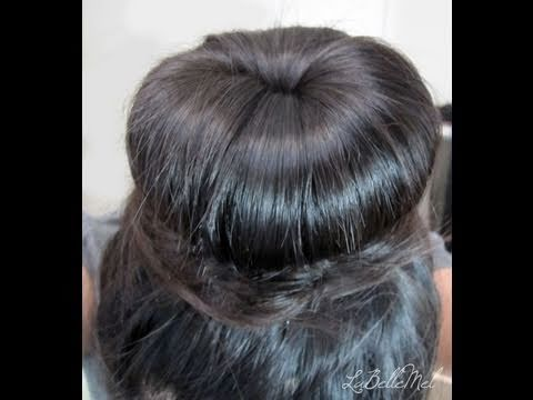 5 Min Simple Hair Tutorial: Donut Bun using NO HEAT