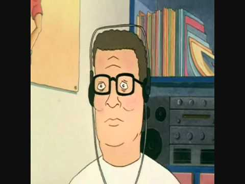 Hank Hill listens to Kesha