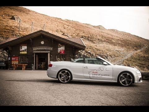 Tag drei der Audi Land of quattro Alpen Tour 2013