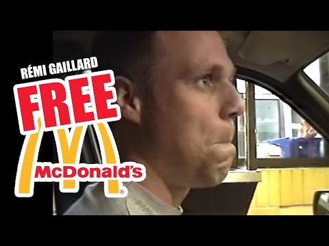 FREE MEAL AT MC DONALD-S (REMI GAILLARD)