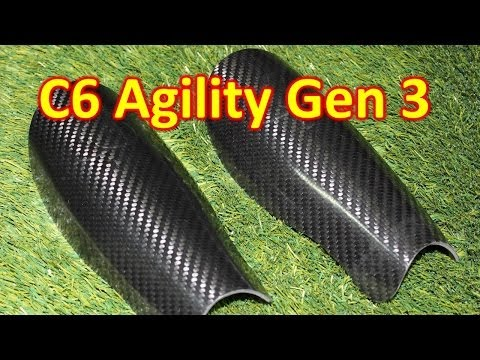 C6 Agility Carbon Fiber Shin Guard 3rd Generation Review - vujojosh