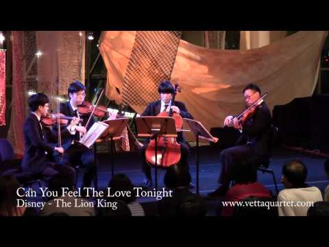 Can You Feel The Love Tonight (Singapore String Quartet) - Flipside 2012 at Esplanade Concourse
