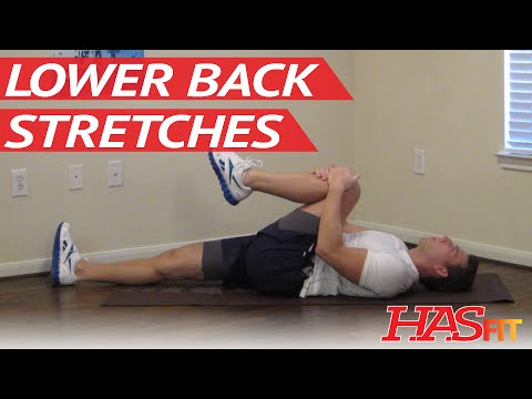 Lower Back Stretches - HASfit Low Back Stretch - Lower Back Pain Exercises - Ache - Stretching