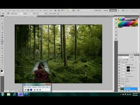 photoshop tutorial: how to mask layers