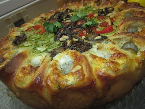 Рецепт- Средиземноморский овощной пирог - UCo3ofZeZ0qAbp8I0Xn8AJDQ