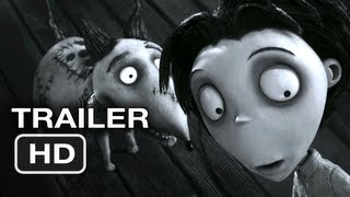 Frankenweenie Official Trailer #2 (2012) Tim Burton Movie HD