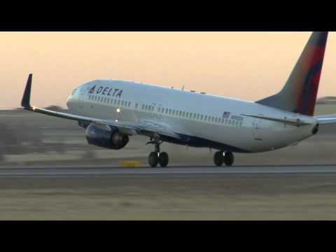 Airplane Takeoff Footage from Denver International Airport sunset mountains Delta Airlines 3 copy