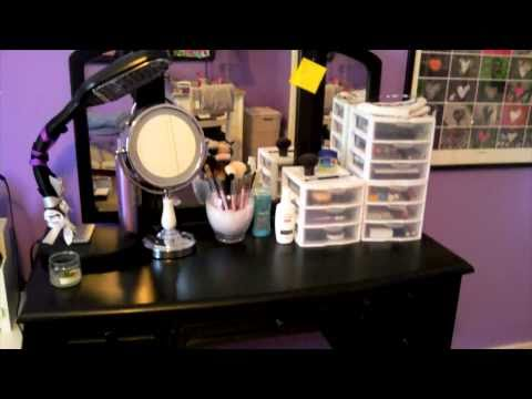 Makeup Storage Ideas on Download My Makeup Nailpolish Collection Storage Ideas Video At