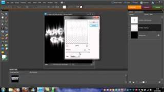 Lightning Text Tutorial on Photoshop Elements 8 by ArchitectGaming.