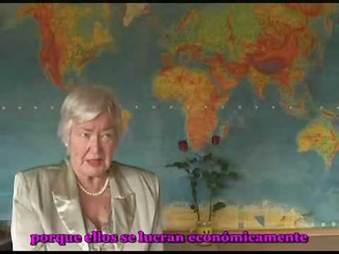 La Dra Rauni Kilde habla del Volcán de Islandia y la OTAN (1 de 2)