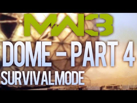 Modern Warfare 3 Solo Survival - I'm out of BJ and Dome Puns - Part 4