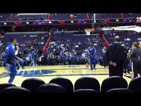 Court Side Washington Wizards John Wall Warmup