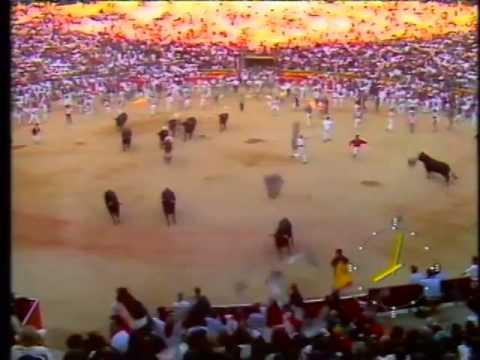 Encierro San Fermín   13 de julio de 1990 480p