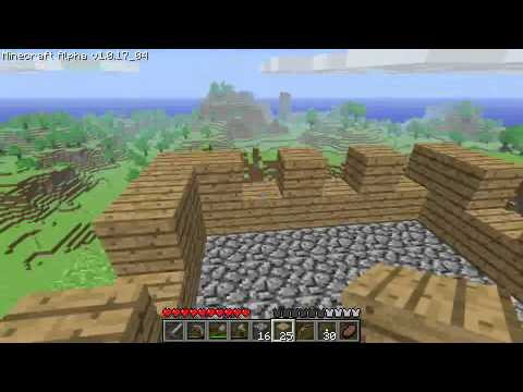 Minecraft Tutorials - 05 - How to Survive & Thrive (Your First House)