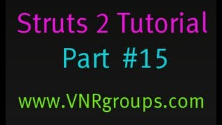 Struts 2 Tutorial Part 15 - Configuring Methods in Action Mappings