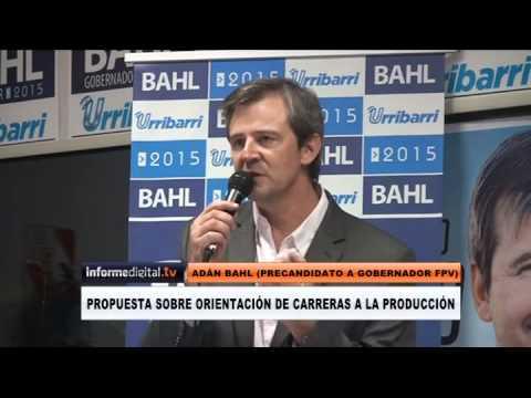 Elecciones 2015. La propuesta de Bahl para orientar carreras universitarias hacia la producci�n