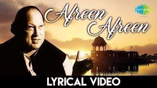 "\\\""Afreen Afreen\\\"" with lyrics  Nusrat Fateh Ali Khan  \\\""आफरीन आफरीन\\\"" गानो के बोल  नुसरत फ़तेह अली खान"