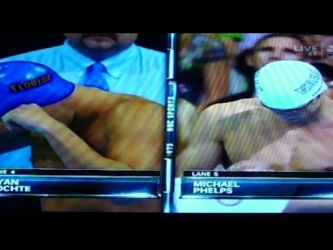 2012 Olympic Trials Swimming 200 IM Final (Phelps vs Lochte)