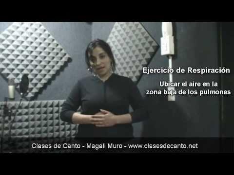 Clases de Canto Ejercicio de Respiracion Retencion parte 2