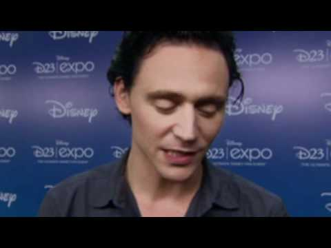The Avengers Tom Hiddleston / Loki Interview at D23 Expo