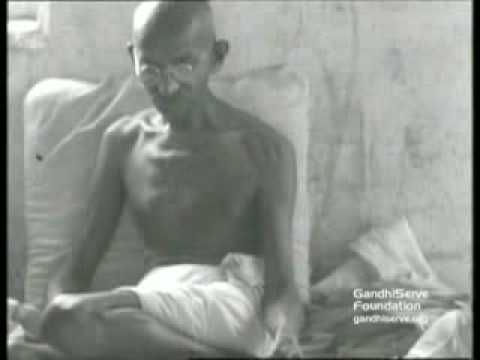Mahatma Gandhi Talks- First Indian Talking Movie