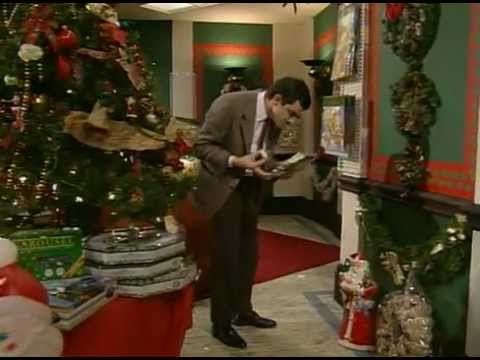 Mr Bean chúc mừng Giáng Sinh