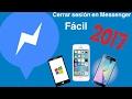 |Cómo cerrar sesión en Messenger de Facebook| [Junio 2014] (Funciona en Android e IOS)