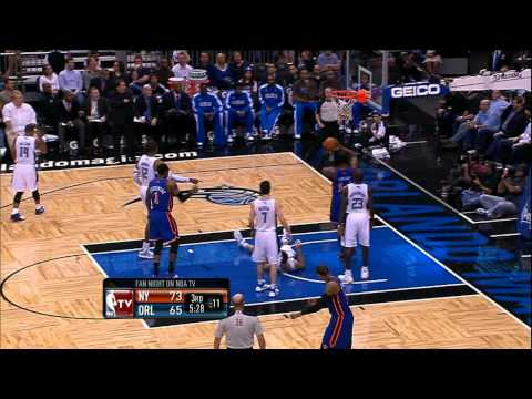 Chauncey Billups' Unbelievable Feed