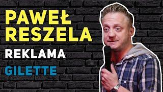 Reszela - O TELEWIZJI - Reklama Gilette {stand-up}
