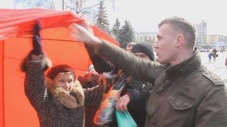 Коммунистов выгнали с центральной площади Житомира